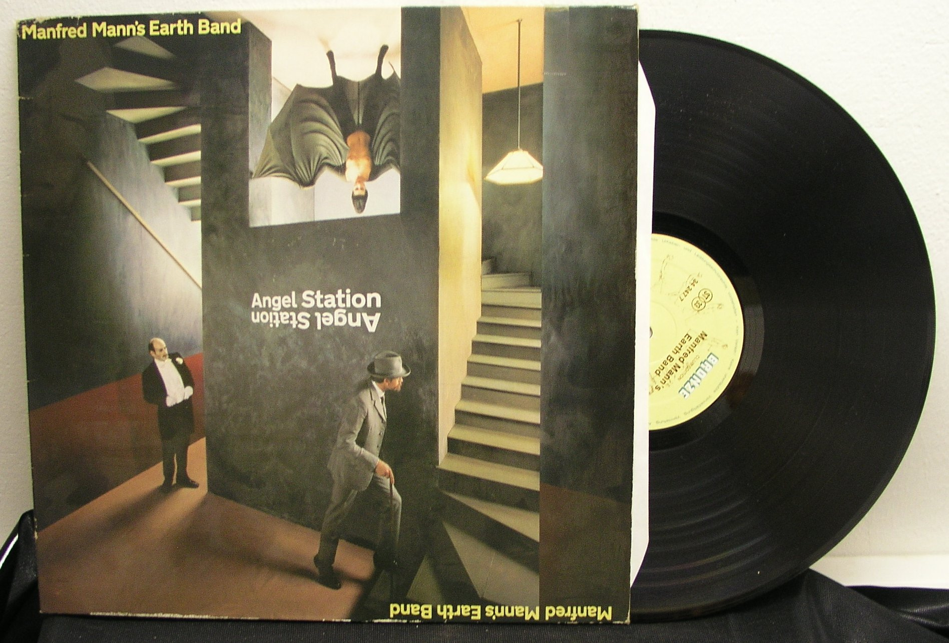 Manfred Mann's Earth Band: Angel Station (EX/EX)