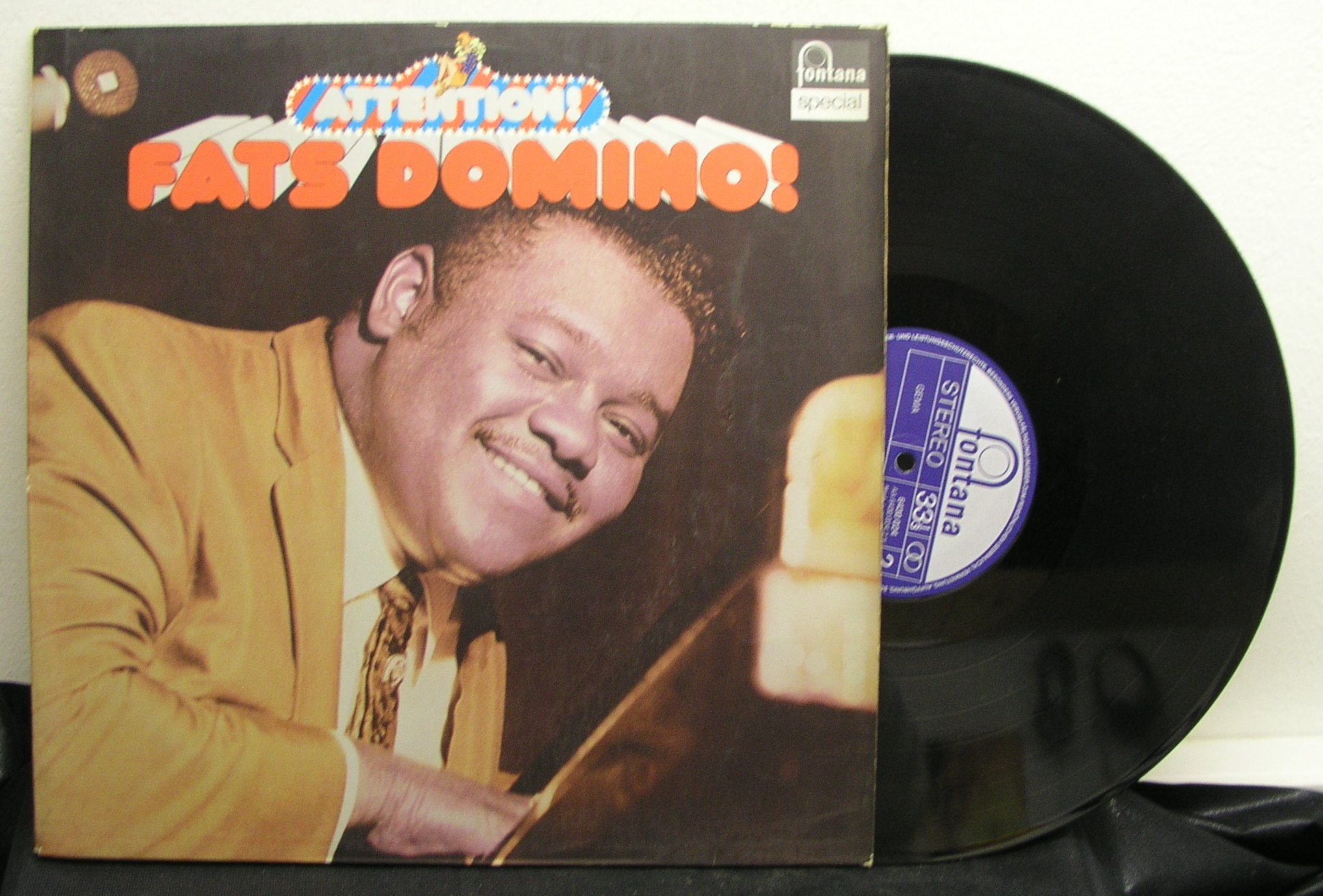 Fats Domino: Attention (EX/EX)