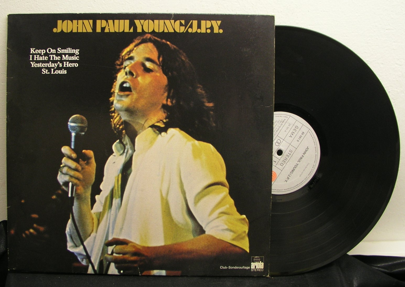 John Paul Young: J.P.Y. (EX/EX)